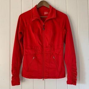 Zella Red Zip Front Jacket